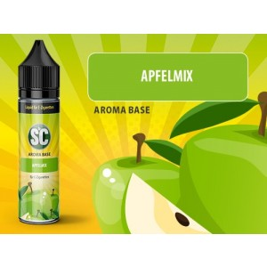 SC Vape Base - Apfelmix 50 ml - 0 mg