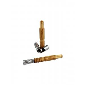 Vapolicx Handvaporizer mit Holz-Mundstück Olive 12 cm
