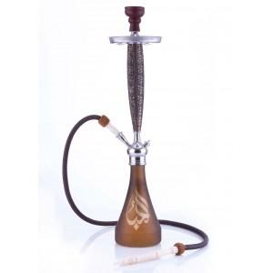 Aladin Origins Shisha Beirut 1-Schlauch 81 cm braun