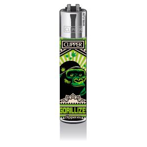 CLIPPER Feuerzeug 420 Animals - Gorilla