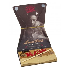 WIZ KHALIFA Loud Pack 1 1/4 (Tray + Raw Papers + Tips)