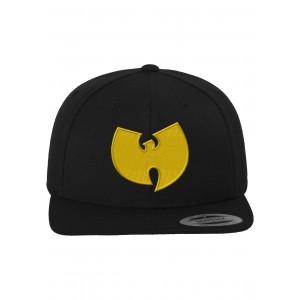 Wu-Tang Logo Cap schwarz