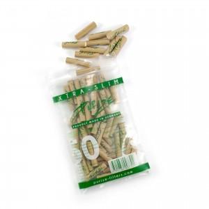 50 PURIZE® XTRA Slim Size Aktivkohle Filter organic