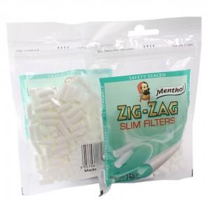 Zig-Zag Menthol Slim Filter, 150er Pack
