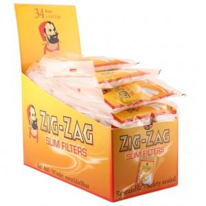 Zig-Zag Slim Filter, 34er Großpackung