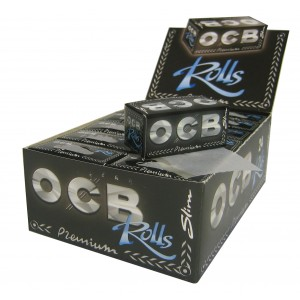 OCB Premium Slim Rolls 4 m, Endlospaper 24er Box