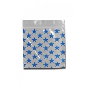 Zip-Beutel 50µ Stars