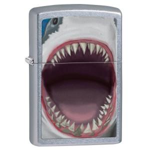 """""""Shark Teeth"""" Zippo Feuerzeug"""
