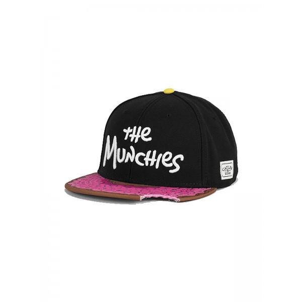 CAYLER & SONS Munchies Cap schwarz/pink