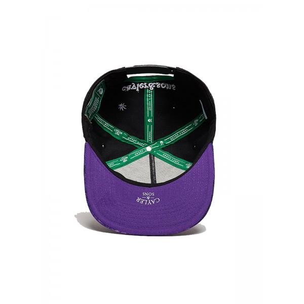 CAYLER & SONS Purple Hills Cup schwarz/lila