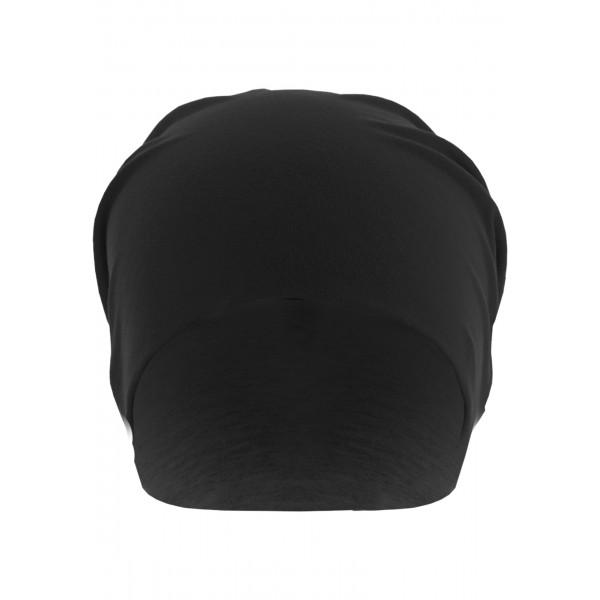 MasterDis Jersey Beanie reversible schwarz/dunkelgrau