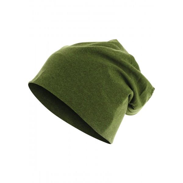 MasterDis Heather Jersey Beanie grün