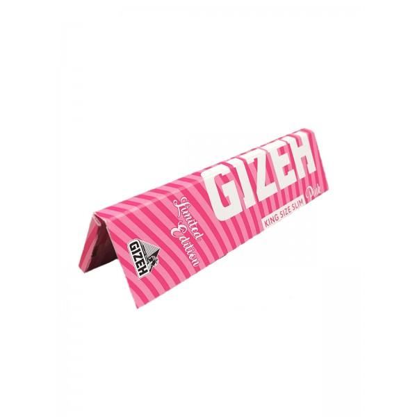 Gizeh Pink Extra Fine King Size Papers mit Magnet Heftchen einzeln
