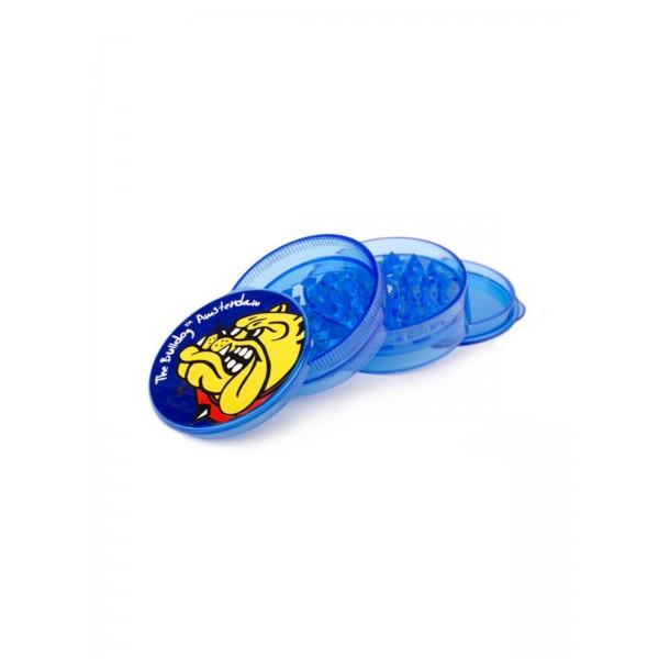 The Bulldog Grinder Plastik Ø 58 mm 4-teilig blau transparent