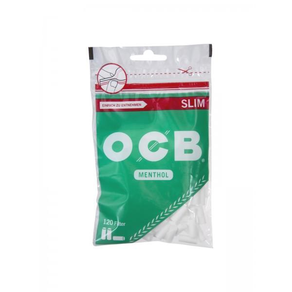 OCB Slim Filter 6 mm mit Mentholgeschmack 120er Beutel