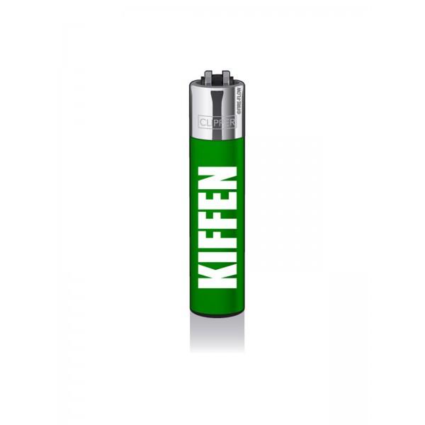 CLIPPER Feuerzeug Impact #12 KIFFEN