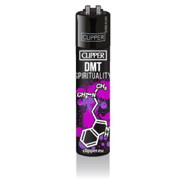 CLIPPER Feuerzeug Molecules #2 DMT