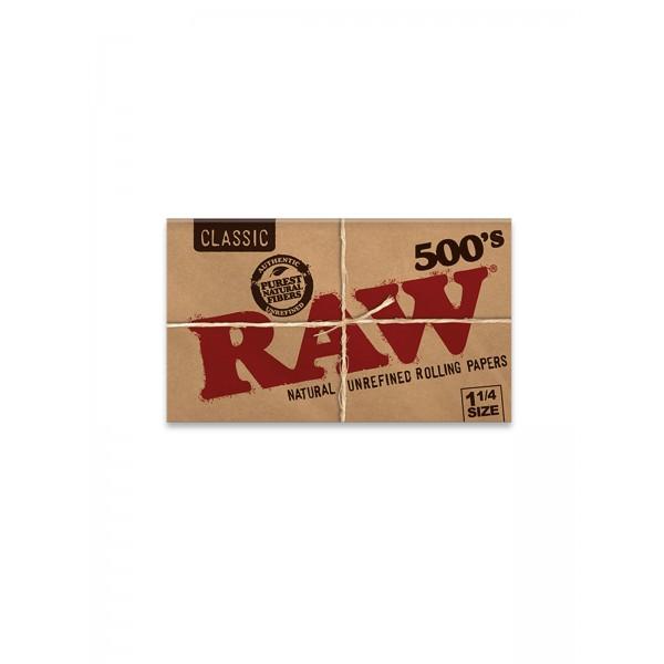 RAW Classic 500´s 1 1/4 Size Papers Heftchen einzeln