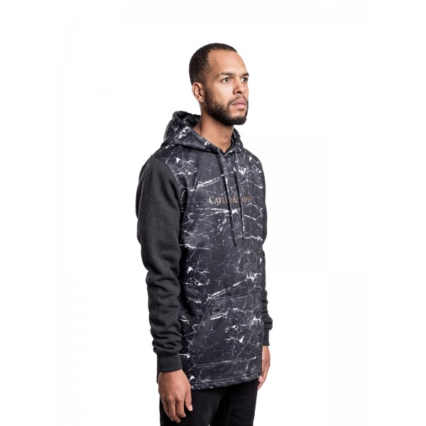 CAYLER & SONS Infinity Windbreaker schwarz/gold