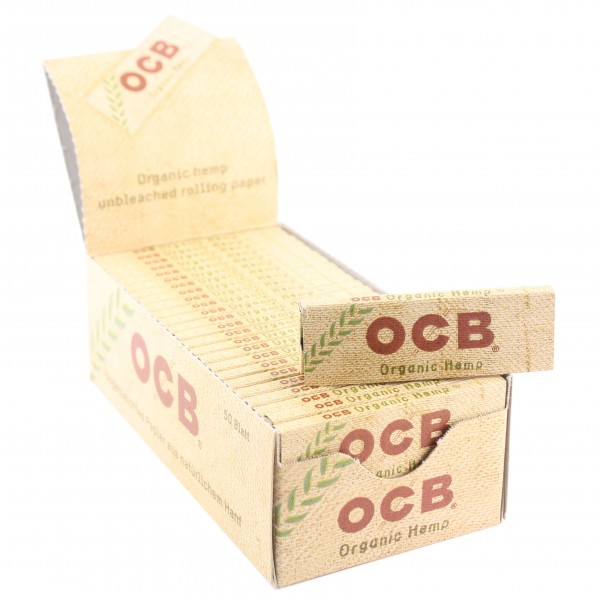 OCB Organic Hemp Papers kurz, 50er Box
