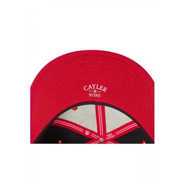 CAYLER & SONS 2Tone Sprecklz black Snapback Cap