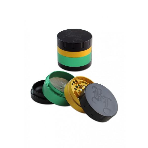 Black Leaf Grinder Startrails Jamaika 4-tlg.