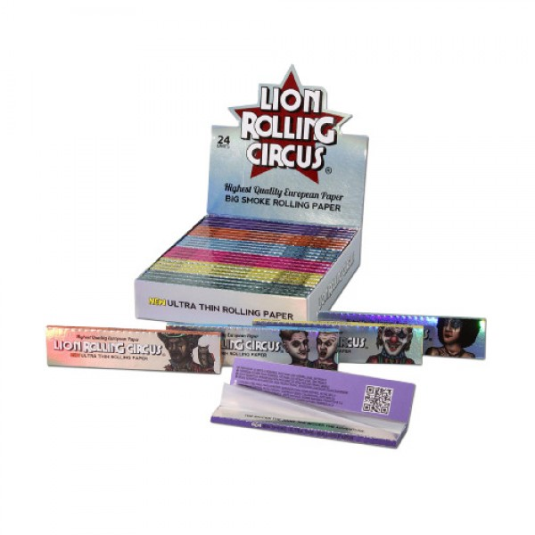 Lion Rolling Circus Ultra Thin Rolling Papers