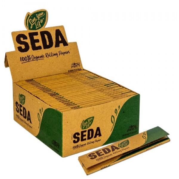 Roll Seda Organic King Size EcoPapers einzelne Heftchen