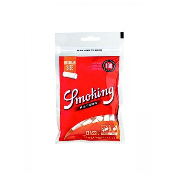 Smoking Classic Regular Filter (orange), 100er Pack