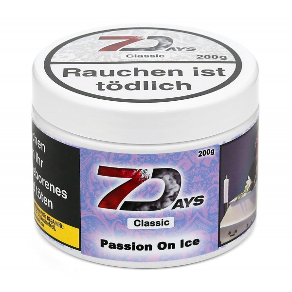 7 Days Shishatabak Passion on Ice 200 g