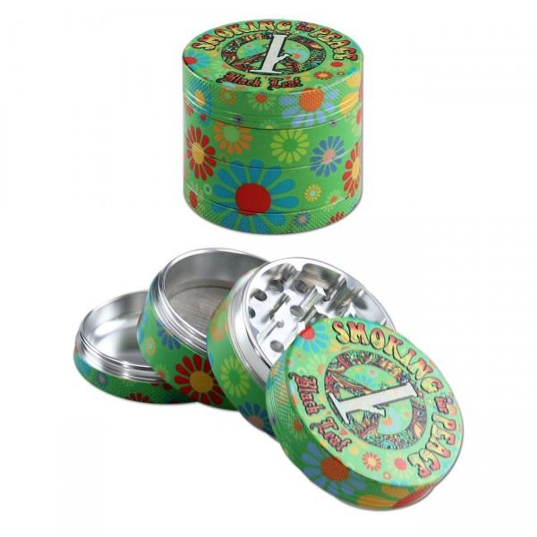 'BL' 'Smoking for Peace' Aluminium Grinder 4-tlg.
