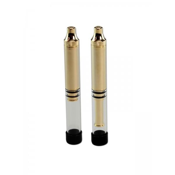 'G-pipe Mini Twisty' Glasblunt Gold