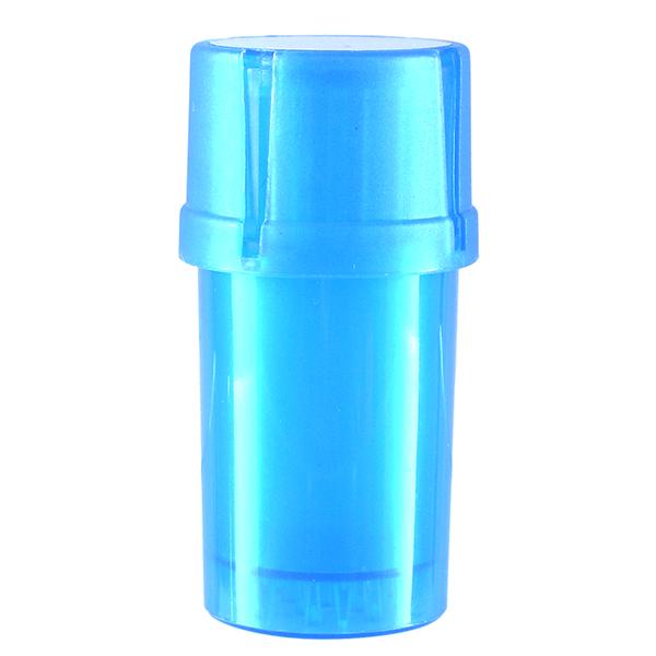Airtainer 2-teiliger Kunststoff-Grinder mit Depot blau
