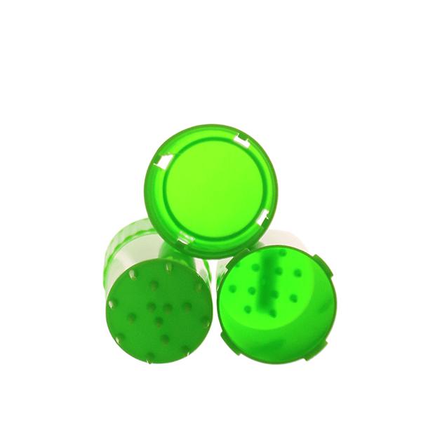 Airtainer 2-teiliger Kunststoff-Grinder mit Depot grün teile
