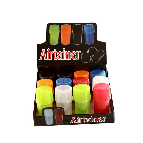 Airtainer 2-teiliger Kunststoff-Grinder mit Depot set