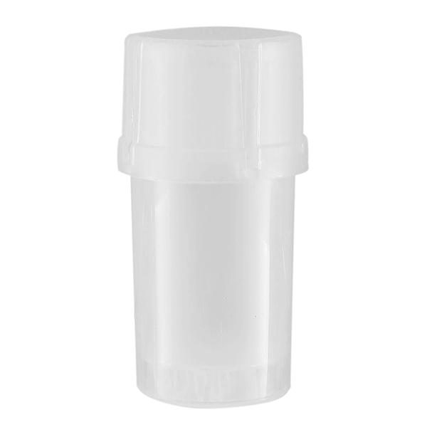 Airtainer 2-teiliger Kunststoff-Grinder mit Depot weiß