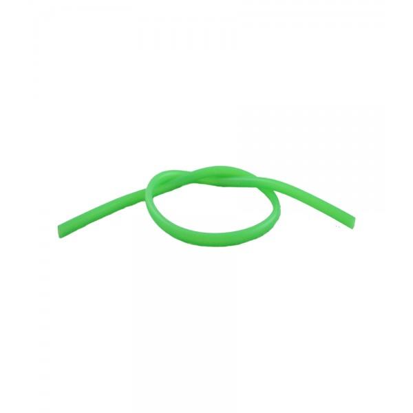 Silikon Shisha-Schlauch 150 cm, grün (Aladin)