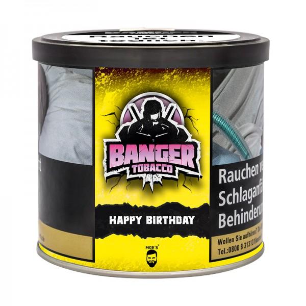 """Banger Shisha Tabak """"Happy Birthday"""" 200 g Dose"""