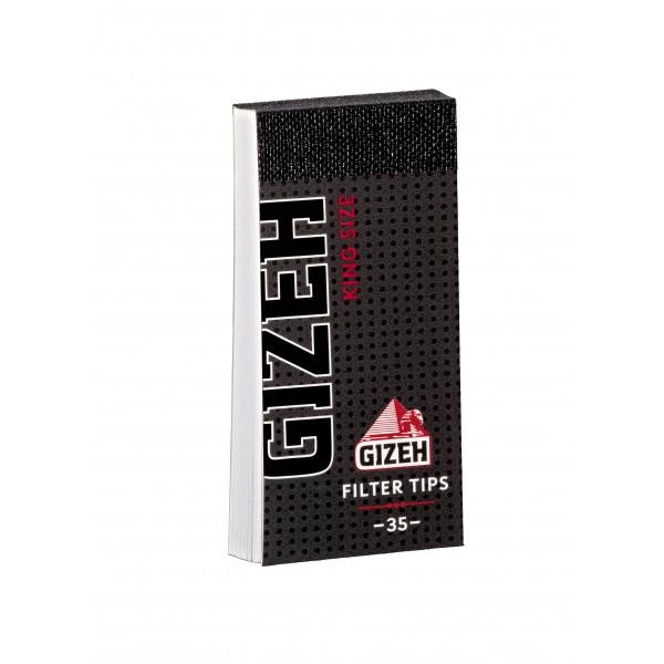 Gizeh Black King Size Filter Tips Heftchen einzeln