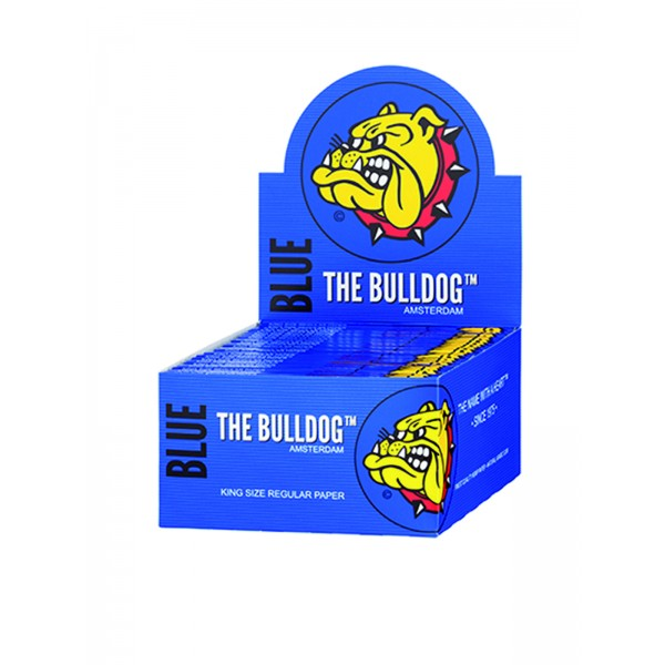 The Bulldog Blue King Size Papers Heftchen einzeln