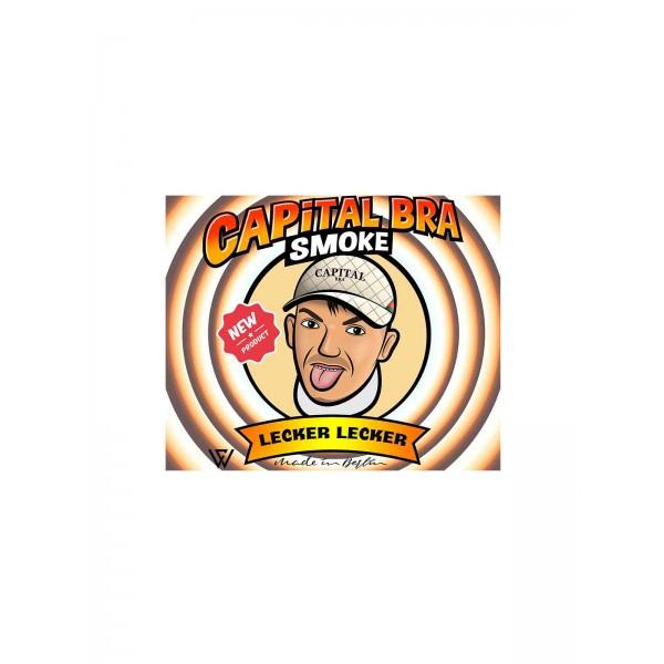 "Capital Bra Smoke Shishatabak ""Lecker Lecker"" 200 g Dose"