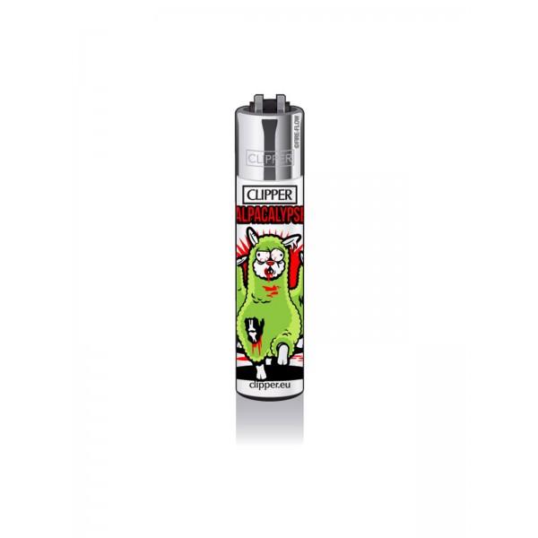 CLIPPER Feuerzeug Alpacas - Alpacalypse