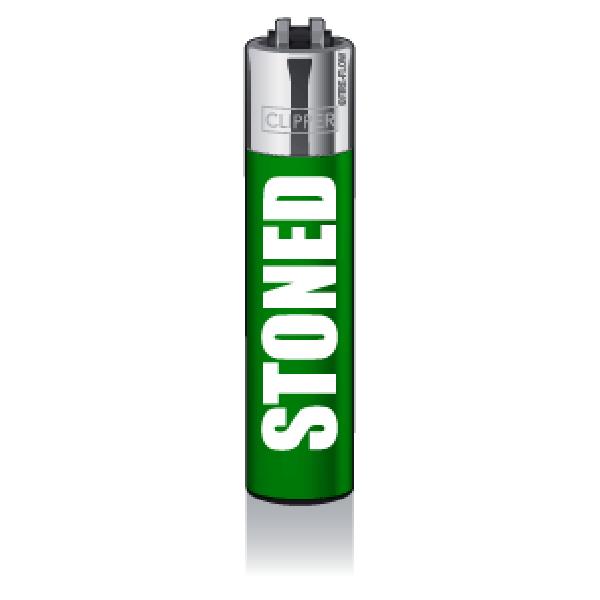CLIPPER Feuerzeug Impact #14 - Stoned