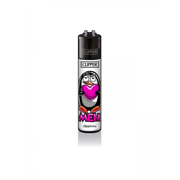 CLIPPER Feuerzeug Pinguine - Meh