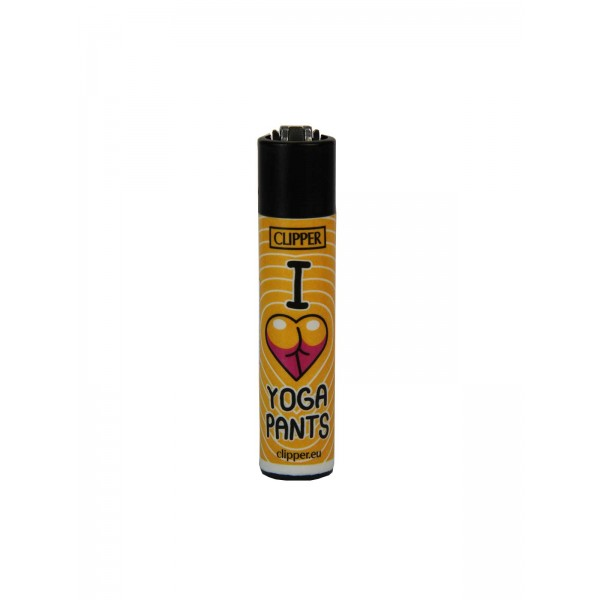 CLIPPER Feuerzeug Yoga Yoga Pants