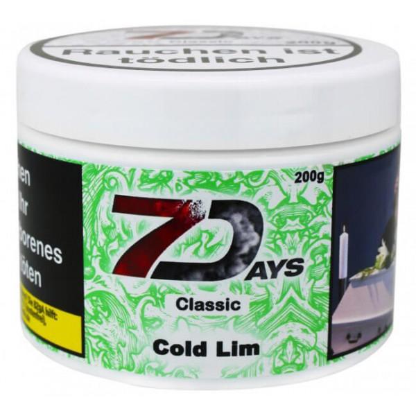 7 Days Shishatabak Cold Lim 200 g
