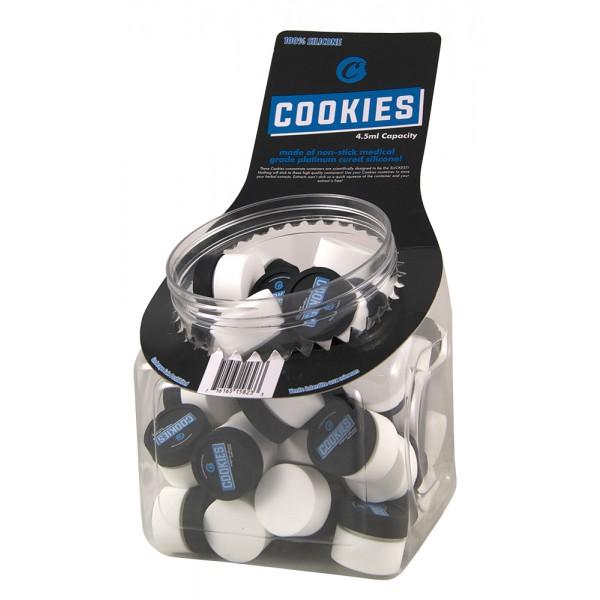 Cookies Silikon Aufbewahrungsdose (schwarz-weiß)