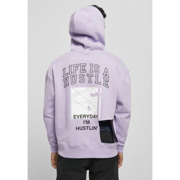 Cayler & Sons Hustle Life MC Box Hoodie lila