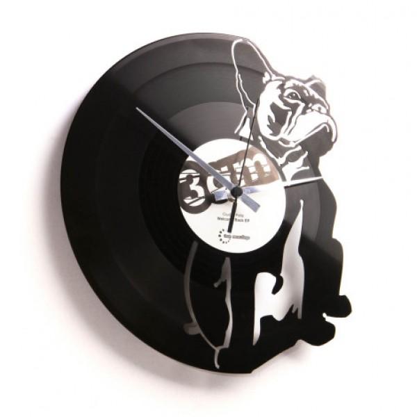 "Wanduhr ""Hugo"" (DISC'O'CLOCK)"