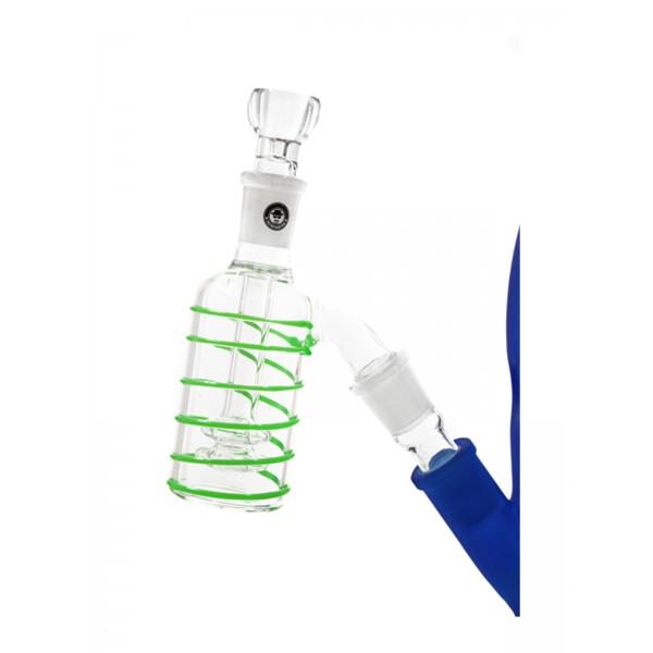 Heisenberg Vorkühler Double Circ Glow 18.8 grün auf chillum